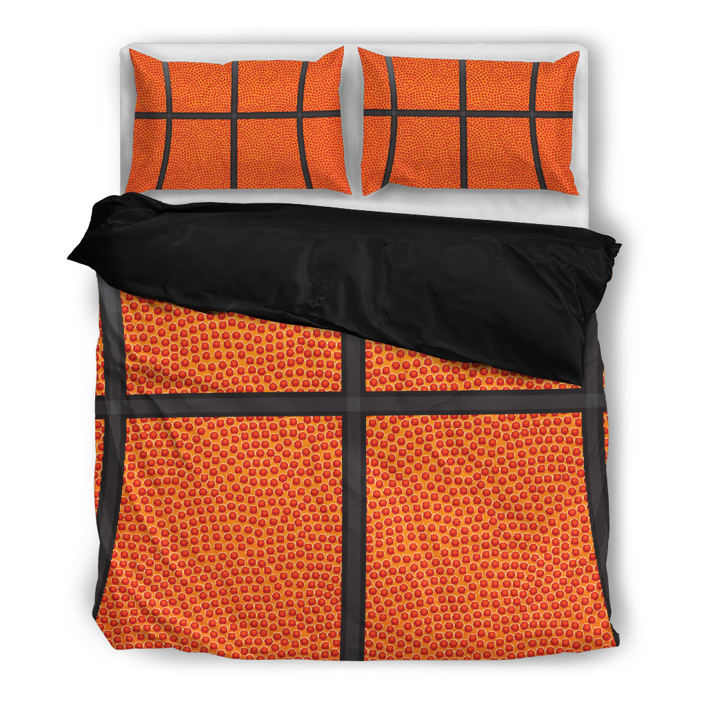 Basketball Bedding Set Black