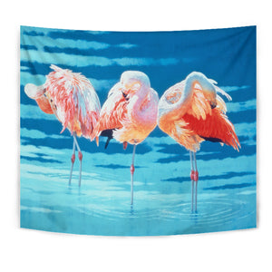Tapestry- Flamingo  Wall Art Algarve online shop