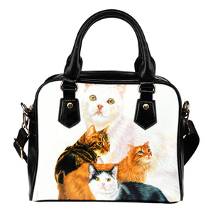 shoulder handbag cat family algarve online