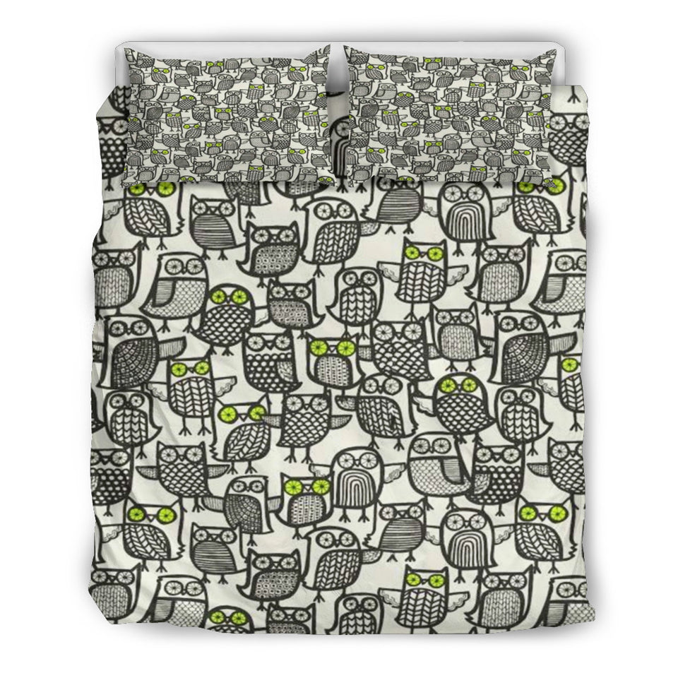 Owls Bedding Set