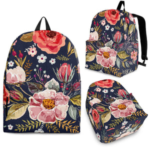 flower backpack floral backpack for women