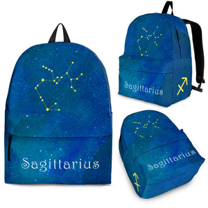 Sagittarius Zodiac Constellation Backpack