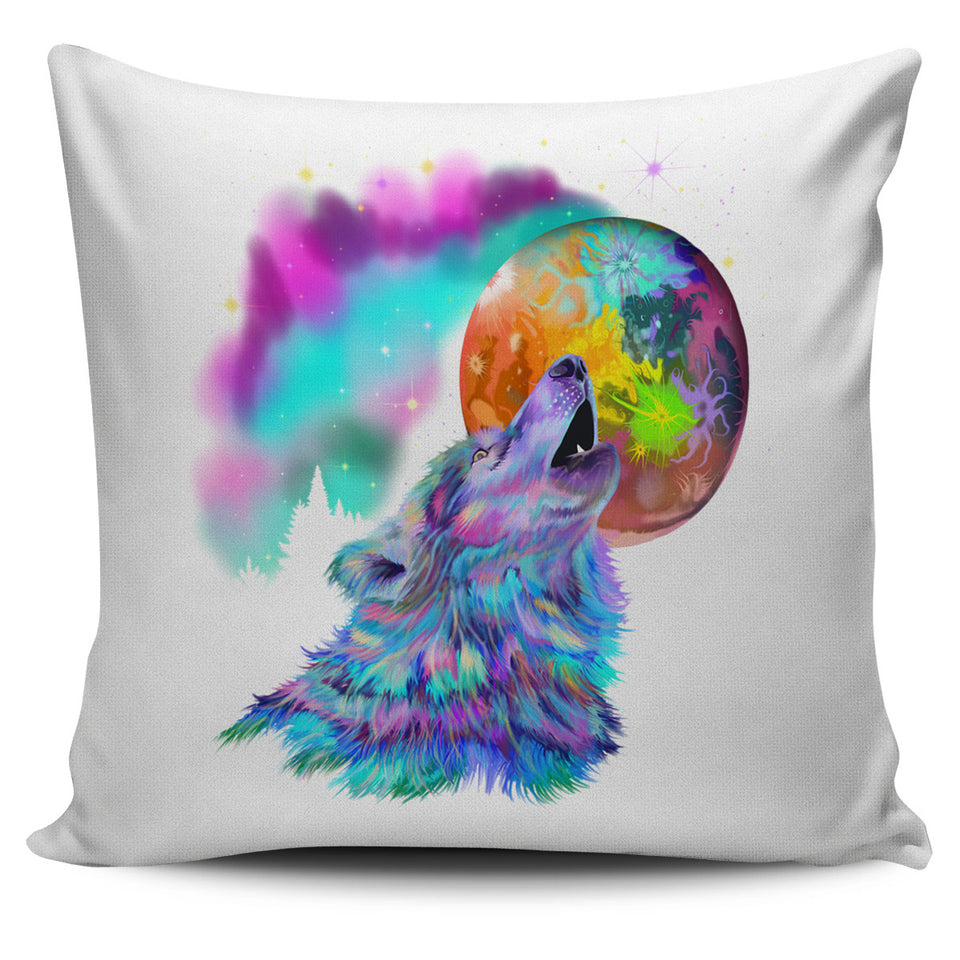 Pillow Cover - Impossible Wolf