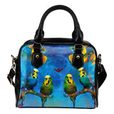 Shoulder handbag parakeet algarve online shop