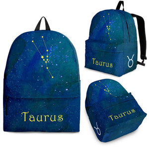 Taurus constellation zodiac backpack algarve online shop