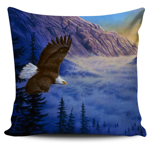 Pillow Cover - Eagle - Soaring High
