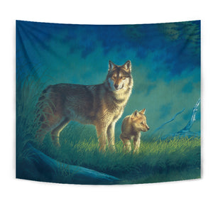 Tapestry Wolf Wall Art algarve online shop