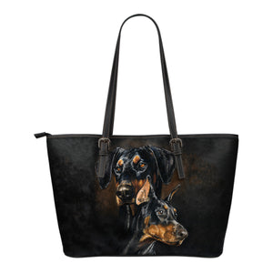 Leather tote bag Pinscher Algarve online shop