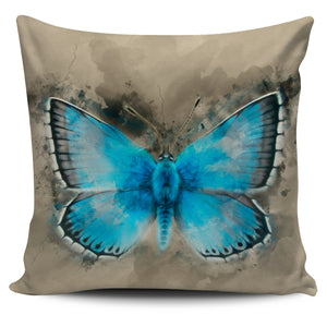 Butterfly Chalkhill blue pillow cover