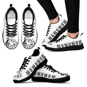 music lovers woman's sneakers
