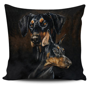 Pillow Cover - Doberman Pinscher