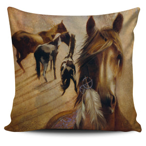 Pillow Cover Horses