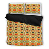 Seven Tribes Tan  Mini  Bedding Set