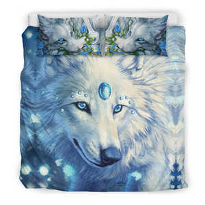 Wolf Blue Bedding