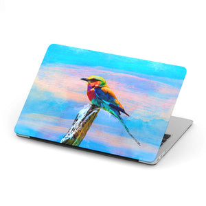 Macbook Case With Bird Print