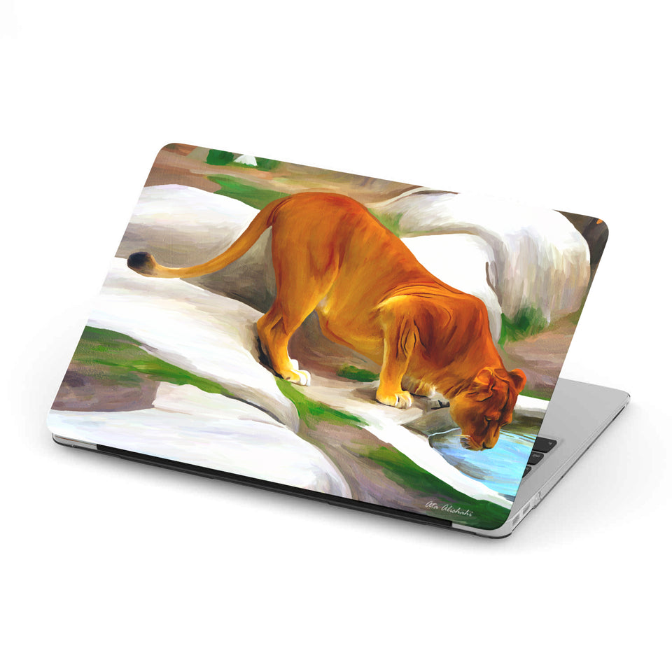 Macbook Case With Lion Print