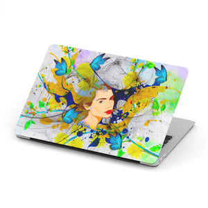 MacBook Protective Case With Butterfly Print