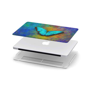 Macbook hardcover with butterfly art print