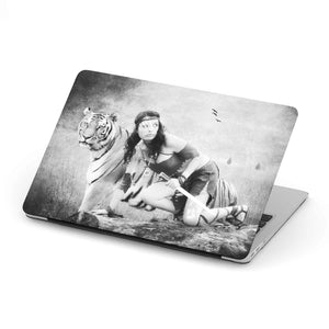 MacBook Hard Cover Case With Native American-Tiger Artwork