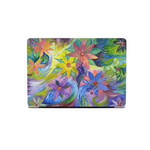 Macbook 11 inch protective case with beautiful flower artwork, different models support.