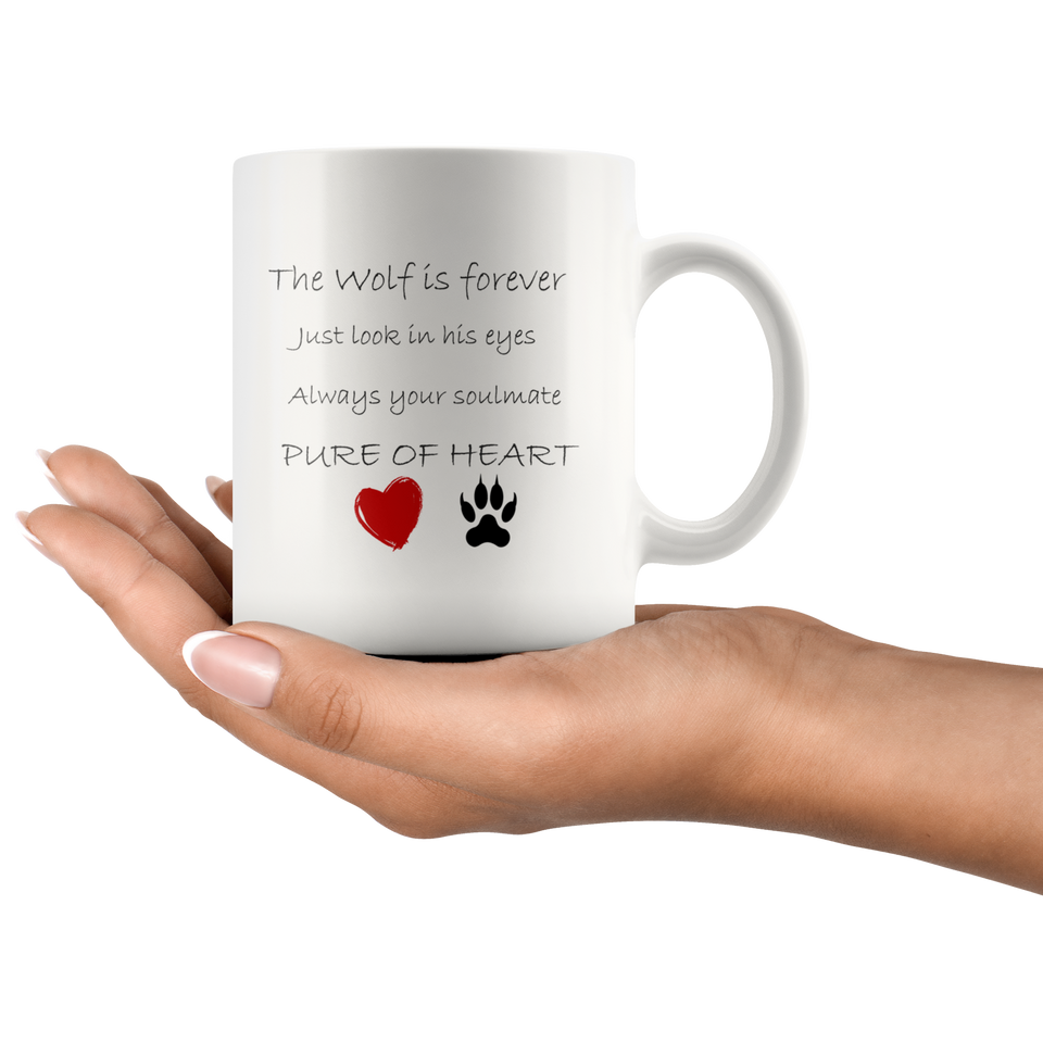 Wolf Mug, Pure Heart algarve online shop