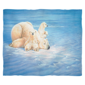Polar Bear Fleece Blanket