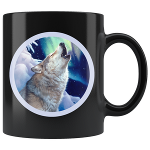 Wolf Mug Holy Night