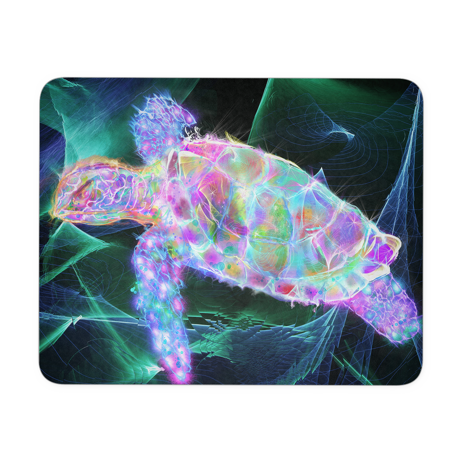 mouse pad sea turtle