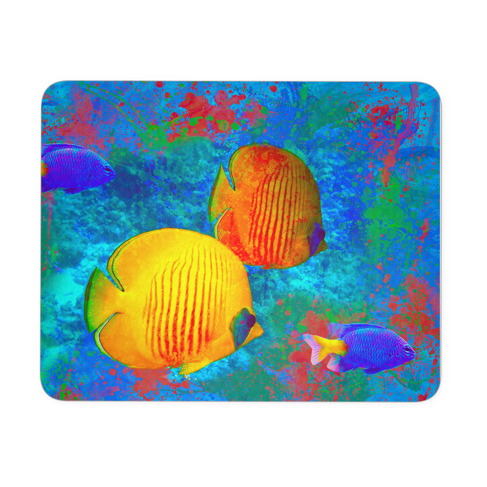 Mouse Pad Color Fish