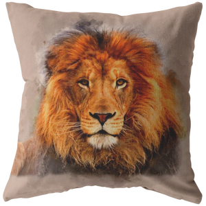 Lion Watch Pillows