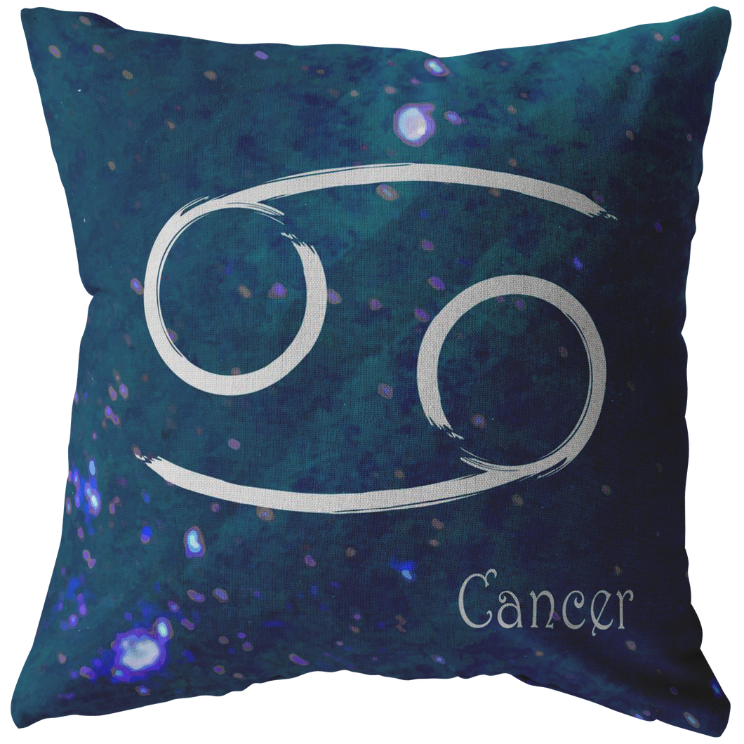 zodiac sign cancer horoscope pillow gifts