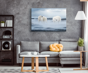 Canvas Polar Bears