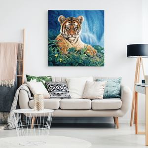 Tiger Canvas- Wall Art