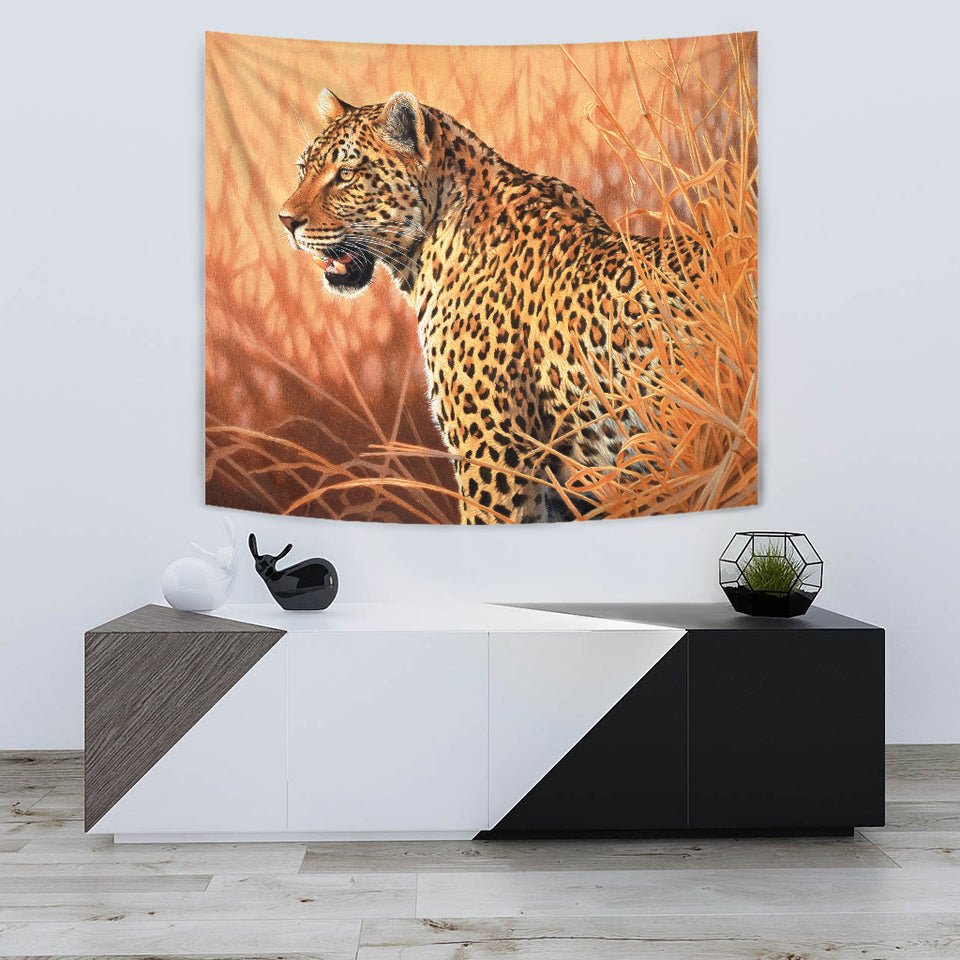 Tapestry leopard Wall Art  algarve online shop