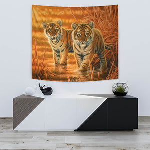 Tapestry  Tiger Wall Art  algarve online shop