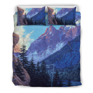 Mountain Bedding - Duvet Cover