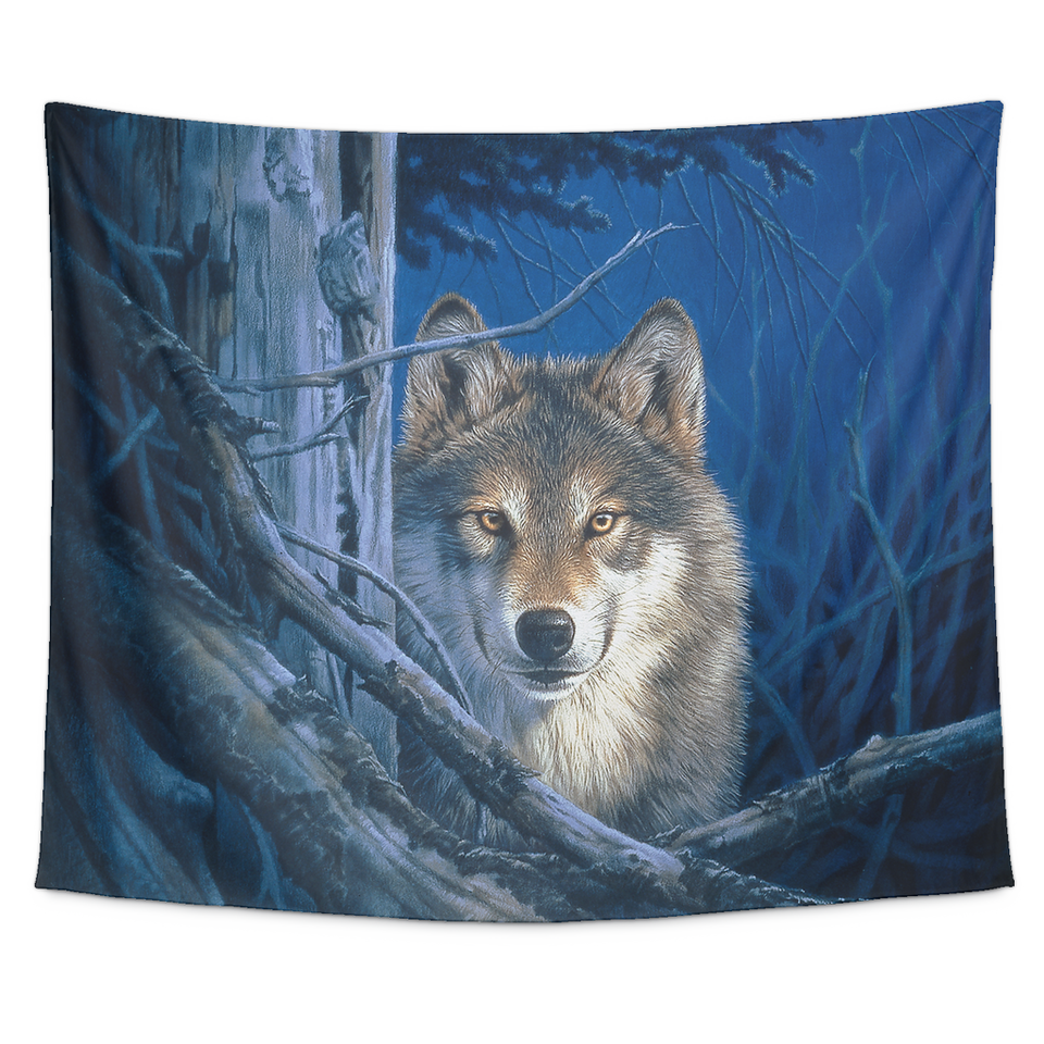 Tapestry Wolf-Moonshine Algarve Online Shop