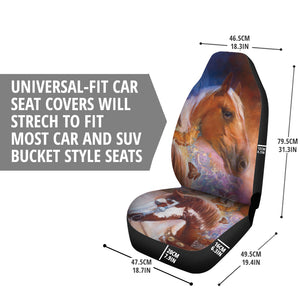 Car Seat Covers - Caballos & Mariposa Horses