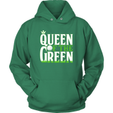 hoodie golf kelly green queen of the green