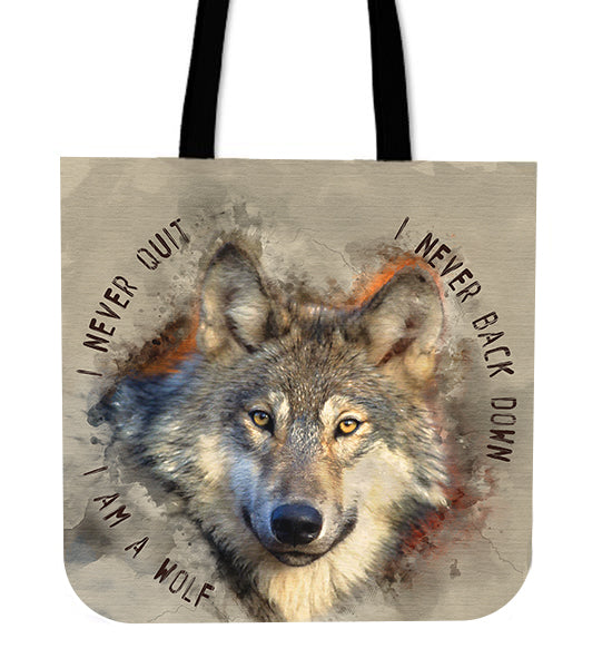 Wolf tote bag algarve online shop