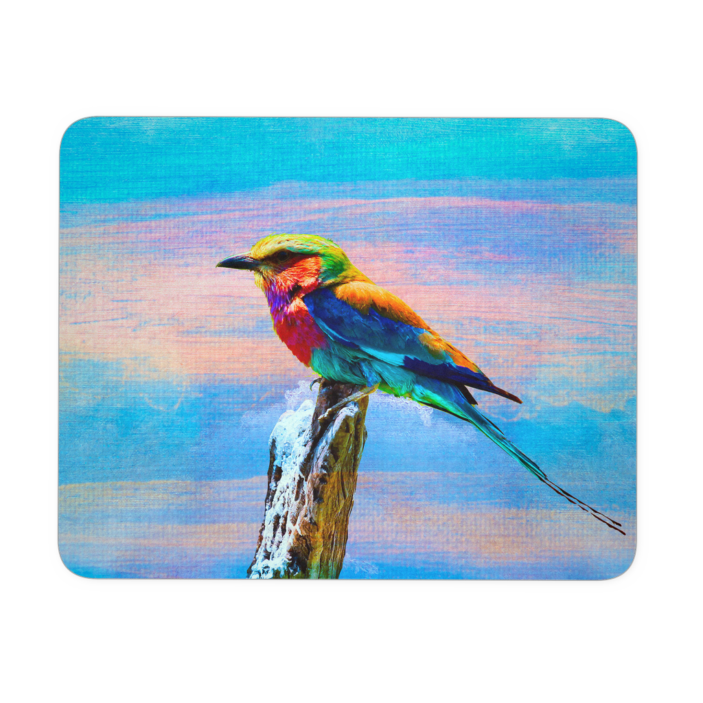 Mouse Pad Ice Bird