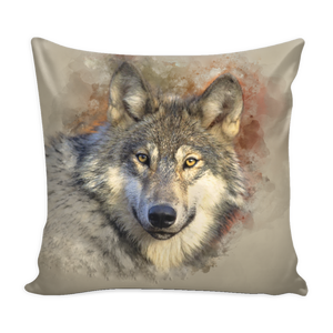 Pillow - I am a Wolf