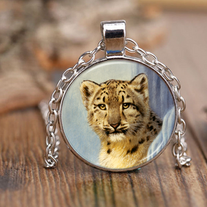 Leopard necklace algarve online shop