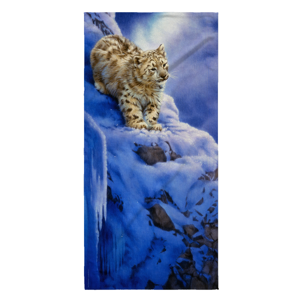 Beach Towel - Leopard - Snowy Cliff
