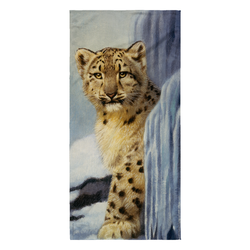 Beach Towel - Leopard - Icy Hideout