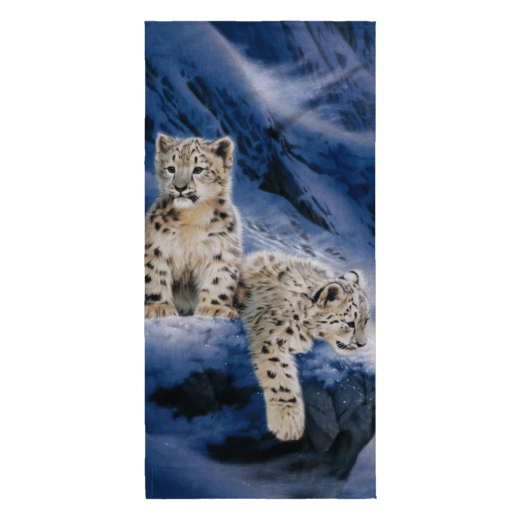 Beach Towel - Leopard - Live Himaroyan Left