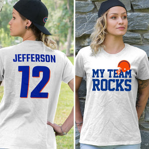Florida Football Unisex T-Shirt - My Team Rocks