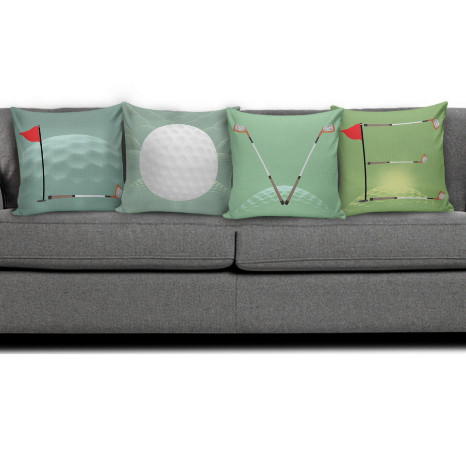 Pillow Cover LOVE Golf LOVE