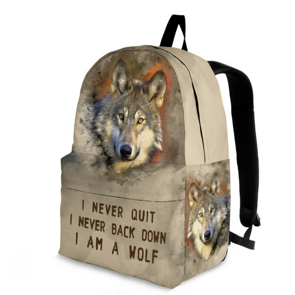 wolf bag for men and women I am a Wolf