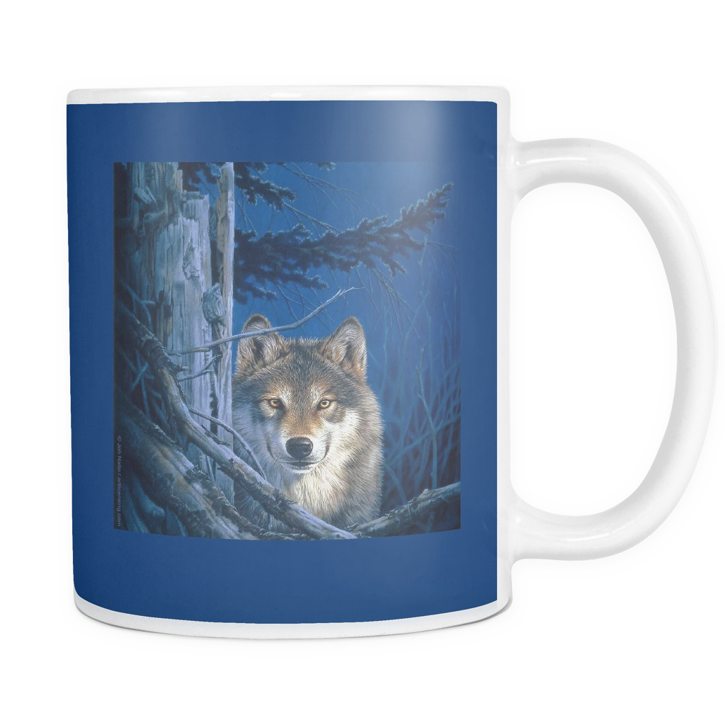 Wolf Mugs by Joh Naito - Algarve Online Shop